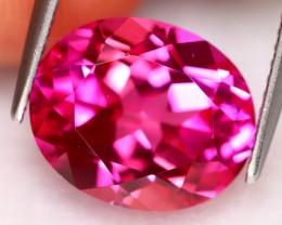 Pink Topaz 6.70Ct Natural Vivid Pink Color Pink Topaz A1222