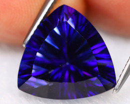 Tanzanite Color Topaz 10.86Ct Natural Millennium Cut Blue Topaz B1204