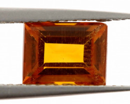 1.5 CTS  -CITRINE   FACETED      LG-224