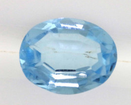2.40 CTS - TOPAZ  FACETED OVAL SHAPE  LG-258