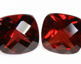 5 CTS - GARNET   FACETED PAIR  LG-269