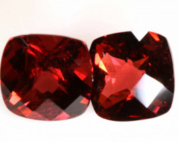 4.8 CTS - GARNET   FACETED PAIR   LG-270