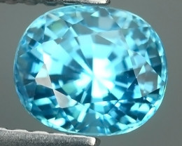1.75 CTS AWESOME SPARKLE NATURAL BLUE ZIRCON ECELLENT~