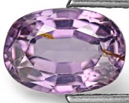 Sri Lanka Spinel, 1.72 Carats, Vivid Violet Oval