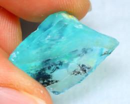 Dendrite Rough 9.02Ct Natural Peruvian Paraiba Color Opal  E1603/R2