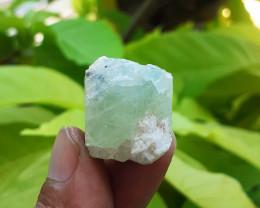 72.00ct Terminated Aquamarine  Crystal Rough