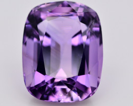 Amazing Color  25.55 Ct Natural Amethyst