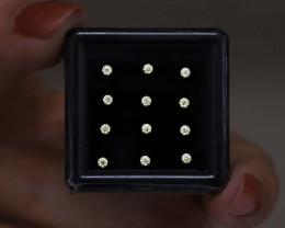 L VS Natural Diamonds , Loose Natural Round Cut , 1.80 mm , 0.30 cts
