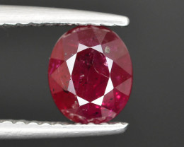 1.60 cts Natural Red Color Ruby - Mozambique