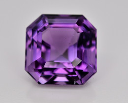 Amazing Color 14.25  Ct Natural Amethyst Gemstone