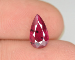 1.30 cts Natural Red Color Ruby - Mozambique