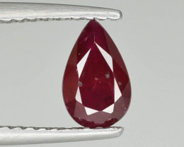 0.85 cts Natural Red Color Ruby - Mozambique