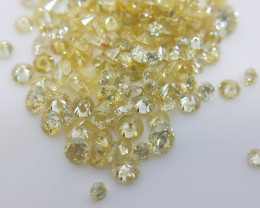0.90 to 2.00 mm Diamonds , Dark Yellow Color ,Mix color , Mix purity