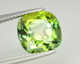 Gorgeous Color 5.10 Ct Lagoon Green Tourmaline From Afghanistan. RA