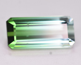 Perfect Bi Color 3.25 Ct Natural Tourmaline. HM
