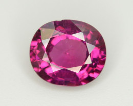 Rarest 2.30 Ct Amazing Fire Natural Grape Garnet ~ RA