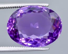 10.65 Crt Amethyst Faceted Gemstone (Rk-20)