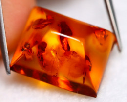 Amber 5.44Ct Natural Honey Color Baltic Amber A1816
