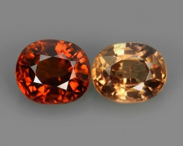 3.60 CTS~ECELLENT TOP LUSTROUS NATURAL CAMBODIA OVAL~ZIRCON!!