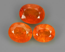 6.50 Cts Unheated Natural Orange Spessartite Garnet Namibia Gem!