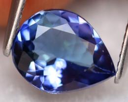 Tanzanite 1.67Ct Natural VVS Vivid Purplish Blue Tanzanite B1305