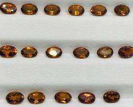 7 Carats Mandarin Garnet  Gemstones Parcel