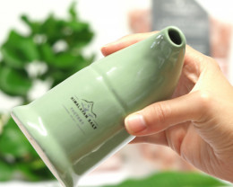 Hot seller -Antibacteria.- Himalayan Salt Ceramic Inhaler,Olive Green  colo