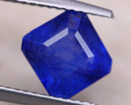 3.05Ct Ceylon Blue Sapphire Square Cut Lot B1582