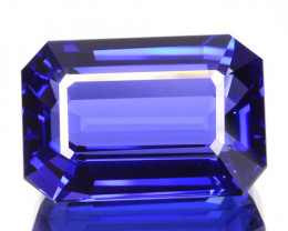 11.33 Cts Natural Blue Tanzanite AAA+ Octagon Cut Tanzania