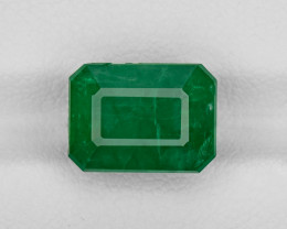 Emerald, 5.28ct - Mined in Pakistan | Certified by GRS