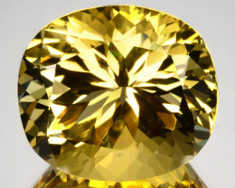 ~CUSTOM CUT~ 20.65 Cts Natural Scapolite Mint Yellow Oval Cut Tanzania