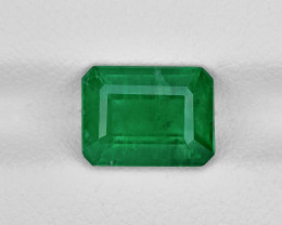 Emerald, 2.19ct - Mined in Pakistan   Certified by GRS