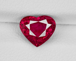 Ruby, 2.01ct - Mined in Mozambique | Certified by GRS