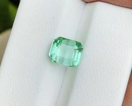 2.65 Ct Natural Green Transparent Tourmaline Gemstones
