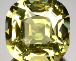 ~CUSTOM CUT~ 39.70 Cts Natural Amazing Green Beryl Cushion Brazil