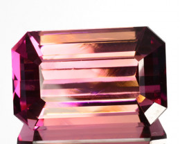 18.77 Cts Natural Beautiful Pink Tourmaline Octagon Cut Mozambique