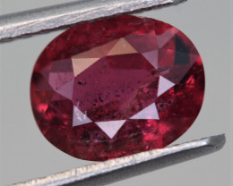 IGA Certified 1.30 Carats Natural Ruby Gemstone