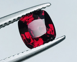 1.10 Carats Red  Spinel Gemstone