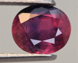 IGA Certified 2.03 Carats Natural Ruby Gemstone