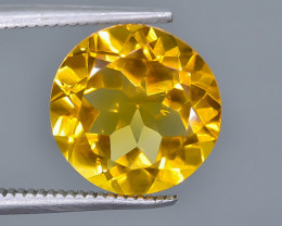 4.43 Crt Natural Citrine Faceted Gemstone.( AB 49)