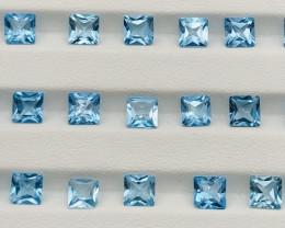 25.80 Carats Topaz Gemstones Parcel