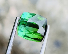 2.10 bluish green colour Tourmaline Gemstone From  Afghanistan