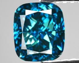 1.51 Cts Sparkling Rare Fancy Intense Blue Color Natural Loose Diamond