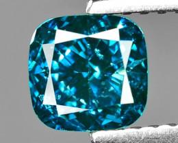1.21 Cts Sparkling Rare Fancy Intense Blue Color Natural Loose Diamond
