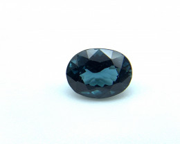 1.65 ct Natural Tourmaline oval shape indigo colour loose gemstone 8.16