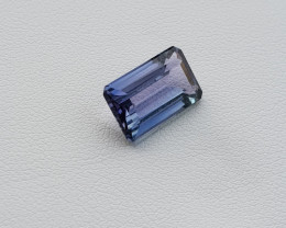 Tanzanite 3.64ct Bluish-Voilet GIA certified