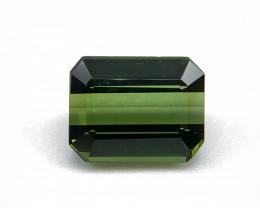 2.36 ct Natural Tourmaline octagon shape green verdelite colour loose gemst