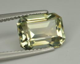 Top Quality 3.45 Ct Natural Green Beryl