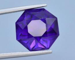 7.75 CT Natural Gorgeous Color Fancy Cut Amethyst ~ T