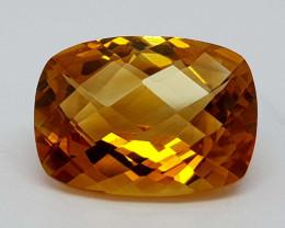 5.95Crt Madeira Citrine Natural Gemstones JI2